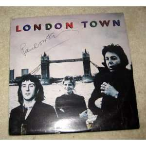 McCARTNEY beatles AUTOGRAPHED Signed RECORD *proof