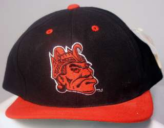 San Diego State Aztecs NCAA Officially Licensed Hat Cap Black Red Snap