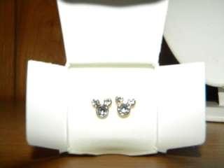Disney for Avon Mickey Mouse Stud Earrings New