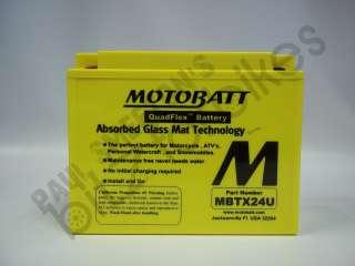 MotoBatt QuadFlex MBTX24U BatteryHonda GL 1500 Gold Wing All Models