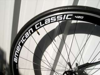 2008 Blue Competition RC8 Full Carbon 56cm Mens Road Bike Durace 7800