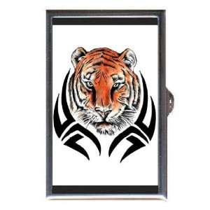 Tiger Tribal Tattoo Art Coin, Mint or Pill Box Made in