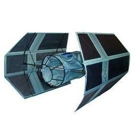 Star Wars Darth Vaders Tie Fighter 3D Vehicle Kit Flying Kite 3+ ft