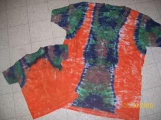 Handmade Tie Dye shirt HUNTERS VEST ON CAMO  pick size