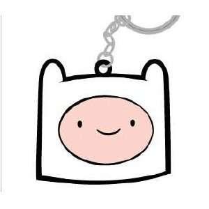 Key Chain   Adventure Time   Finn Head Rubber Toys