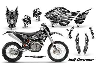 KTM GRAPHICS KIT SX SXF 07 10, EXC XCF 08 10 11, XCW 08 10 11 DECALS