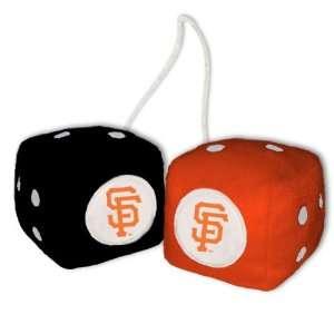 San Francisco Giants Plush Team Fuzzy Dice