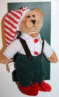 Enesco Boyds Bears Heartfilled Hugs Teddy Bear Dressed as Christmas