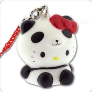 Sanrio Hello Kitty Glowing Light Charm (Panda/Black) Cell