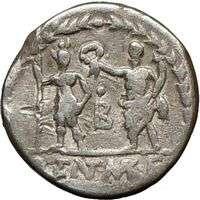 Roman Republic Pub. Lentulus Marcelif HERCULES Roma 100BC Ancient