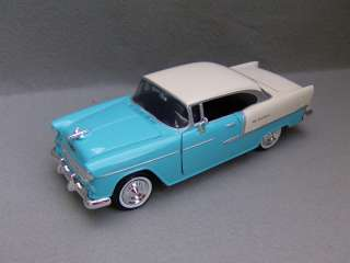 1955 Chevrolet Bel Air   Diecast Car Model  Blue  124