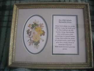 Frame Old Irish prayer blessing st patricks day picture decoration