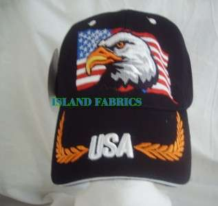 NAVY EAGLE USA EMBROIDERY BASEBALL CAP HAT VISOR BERET