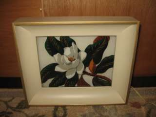 1940s Funeral Home Reverse Painted Wall Lamp   2 of 2