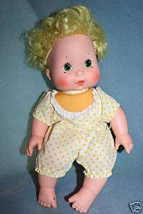 Strawberry Shortcake Lemon Meringue Blowkiss Doll 1982