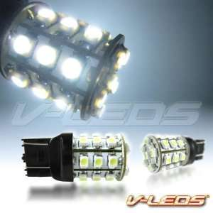 2 WHITE V LEDS M SMT 27 LED PARKING LIGHT BULBS 7440 7443