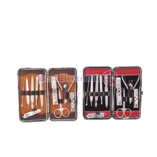 10 Stainless steel Nail Clippers Manicure Pedicure set
