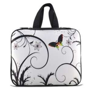 15.5 15.6 Butterly Laptop Case Sleeve Bag Cover +Handle For HP DELL