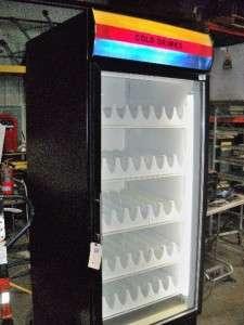 BEVERAGE AIR Single Section Glass Door Refrigerator / Cooler   Model