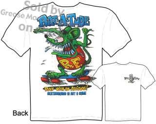 Ed Roth Rat Fink T shirt, Big Daddy Apparel New Sz M 3X