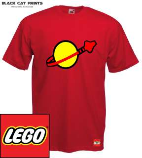 Lego Astronaut Logo T Shirt