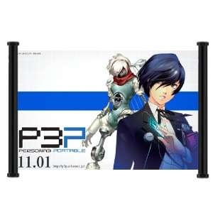Shin Megami Tensei Persona 3 Game Fabric Wall Scroll Poster (47x31