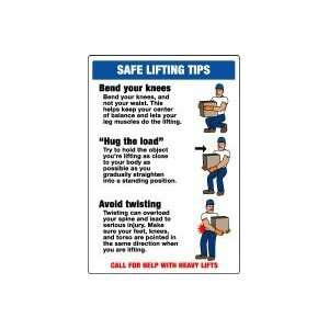 TIPS  (W/GRAPHIC) Sign   20 x 14 .040 Aluminum: Home Improvement