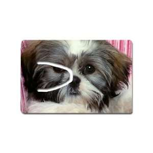 Shih tzu cute puppy Bookmark Great Unique Gift Idea