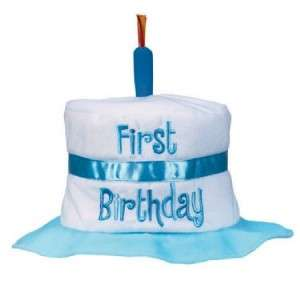1st Birthday Cake Fabric Hat~for boys, Perfect for Party!, Brand New
