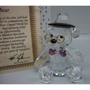Crystal World Teddys Bear Crystal Figurine Everything