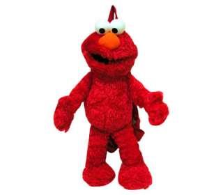 NEW Sesame Street Elmo Figure Doll 15 Stuffed Plush Travel School