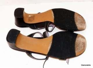 Pretty TARYN ROSE BLACK DOUBLE STRAP SANDALS, Slides, sz 8 M, 38 1/2
