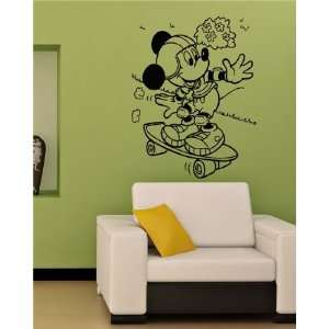 MICKEY MOUSE DISNEY KIDS ROOM NURSERY WALL VINYL STICKER