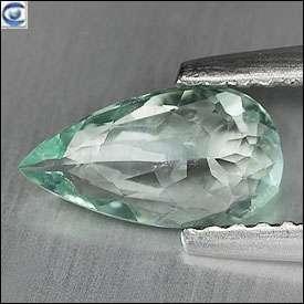 gemstones 0 70ct pretty pear vvs blue green paraiba tourmaline