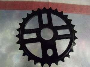 KINK BIKES BLACK/GREY LOGO 28T BMX SPROCKET