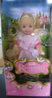 BARBIE RAPUNZELS WEDDING FLOWER GIRL KELLY PINK *NEW*