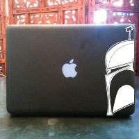star wars boba fett custom macbook pro decal sticker