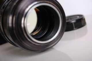 Russian Soviet vintage Jupiter 9 2/85mm M39 Portret RF BLACK Lens