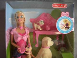 Barbie Doll & Taffy Dog & Puppies Target Exclusive