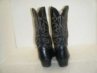 Mens Black Morgan Boots sz 10.5 (#9837)