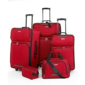 TAG SPRINGFIELD 5 PIECE SET LUGGAGE TRAVEL KIT 3 YEAR LIMITED WARRANTY