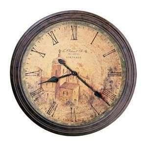 Howard Miller Le Chateau D Olero II Framed Wall Clock 25