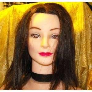 Cosmotology Female Manikin 14 Long Real Brown Hair Beauty
