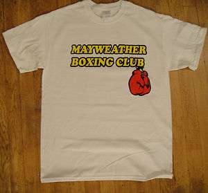 Mayweather Boxing Club t shirt 24/7 Floyd jr. S  XL