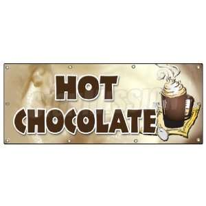 BANNER SIGN cocoa flavor maker signs Swiss Patio, Lawn & Garden