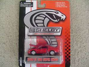 Shelby Collectibles 2008 GT 500 Super Snake Mustang