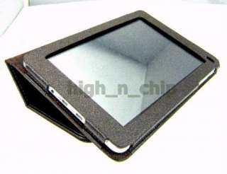 Folio Leather Case Skin Cover Stand & Arm band for Huawei MediaPad 7