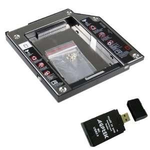 com IDE / PATA 2ND HDD Hard Disk Drive HDD Bay 2.5 9.5mm HARD DRIVE