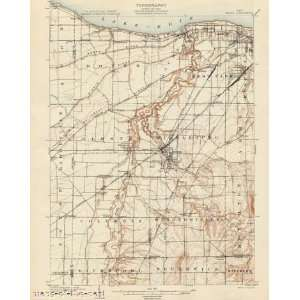 USGS TOPO MAP BEREA QUAD OHIO (OH) 1904 Home & Kitchen
