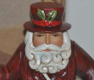 Enesco Jim Shore Father Christmas British Santa Figurine 4017649